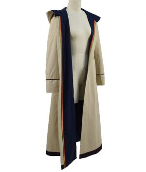 Beige-Stone-Cotton-Coat-For-Womens