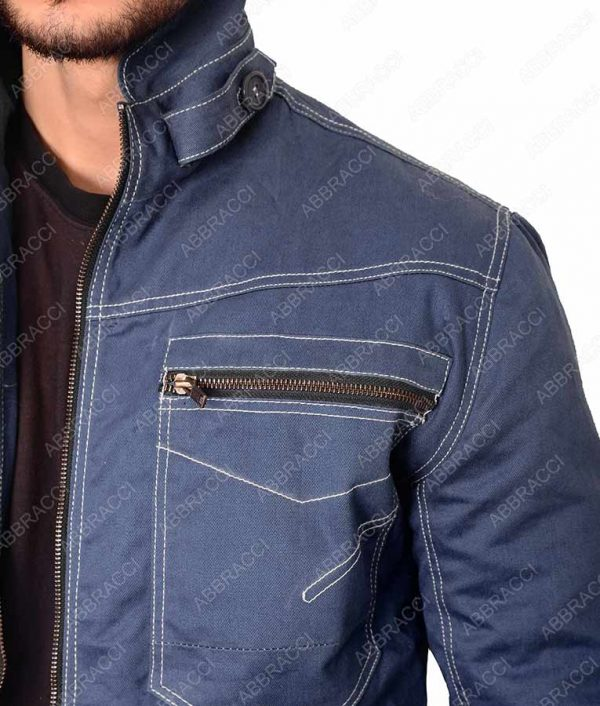 Beauty-and-the-Beast-Vincent-keller-Denim-Jacket