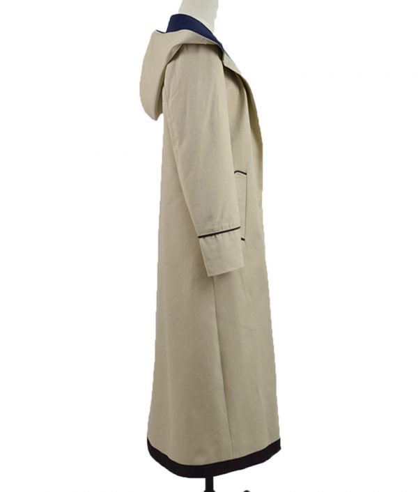 Jodie-Whittaker-Beige-Trench-Coat