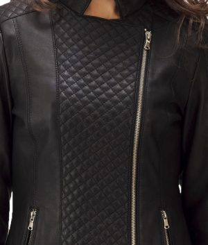 Womens-Orient-Grain-Quilted-Black-Leather-Jacket
