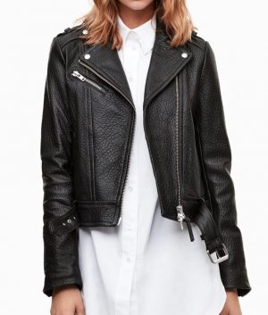 Iris-West-Black-Biker-Jacket