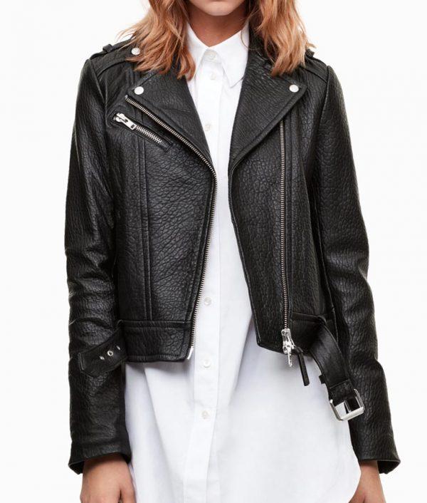 Iris-West-Black-Biker-Jacket