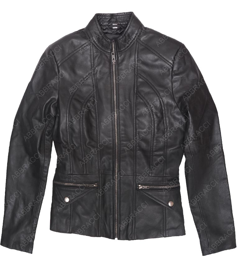 Womens-Seamed-Lambskin-Scuba-Jacket