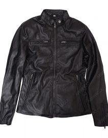 Womens-Black-Slimfit-jacket