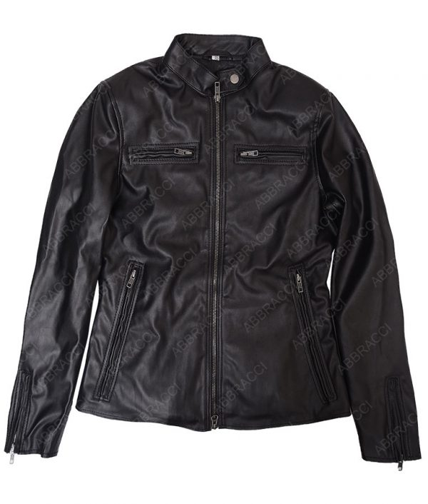Womens-Black-Slimfit-jacket