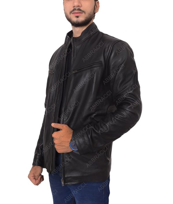 Black-Leather-Cafe-Racer-Jacket