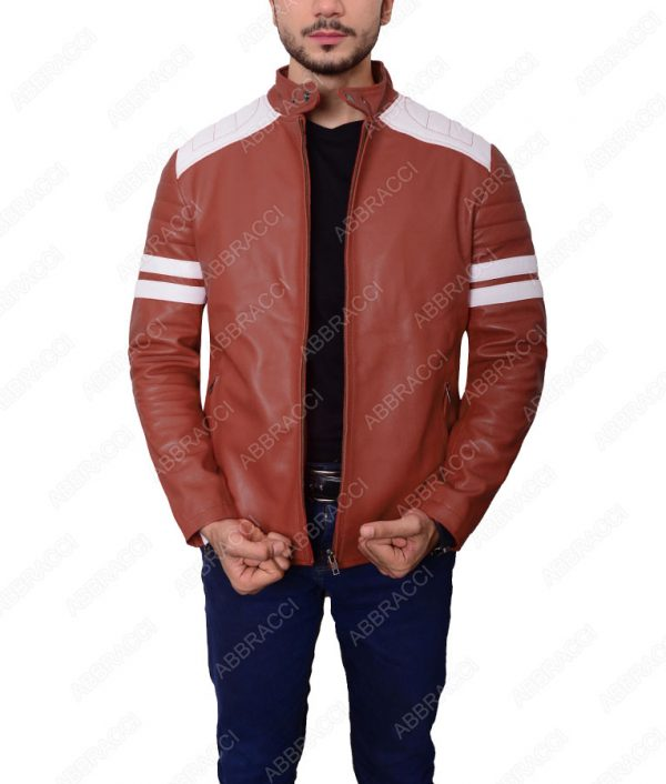 Brown-Tyler-Durden-Slimfit-Jacket