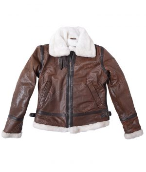 Disressed-Brown-Aviator-Jacket