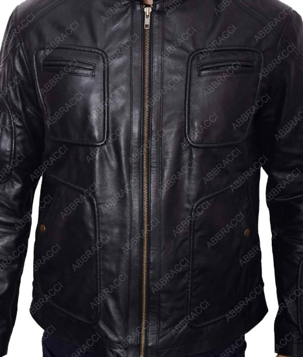 Star-trek-Chris-Pine-Cafe-Racer-Leather-Jacket