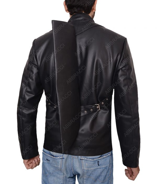 Black-Military-leather-jacket