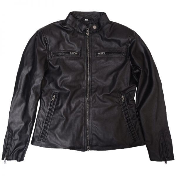 Shadowhunters Snap Tab Collar Style Slimfit Jacket