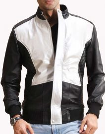 Mens-Bomber-Leather-Jacket