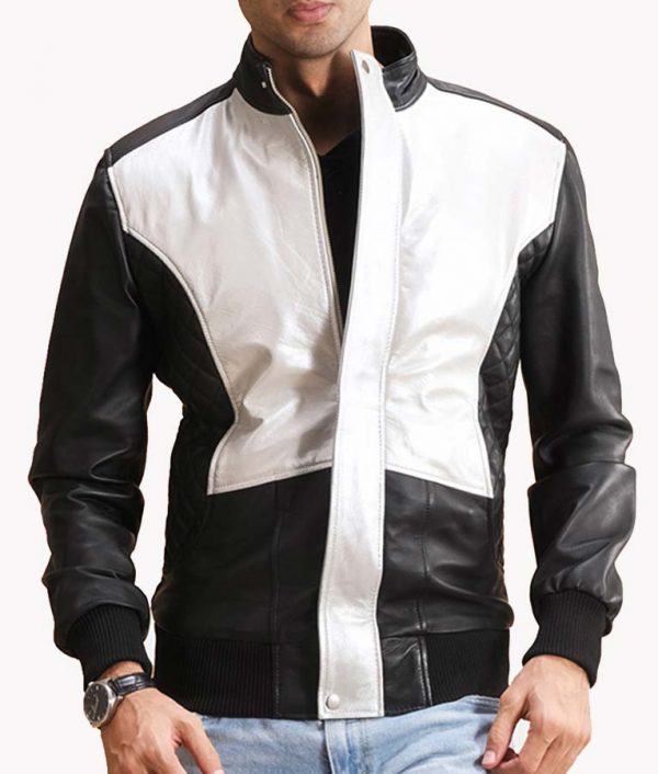 Mens-Bomber-Leather-Jacket