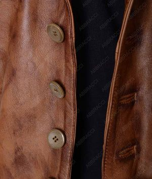 The-Cowboys-Brown-Distressed-Leather-Vest