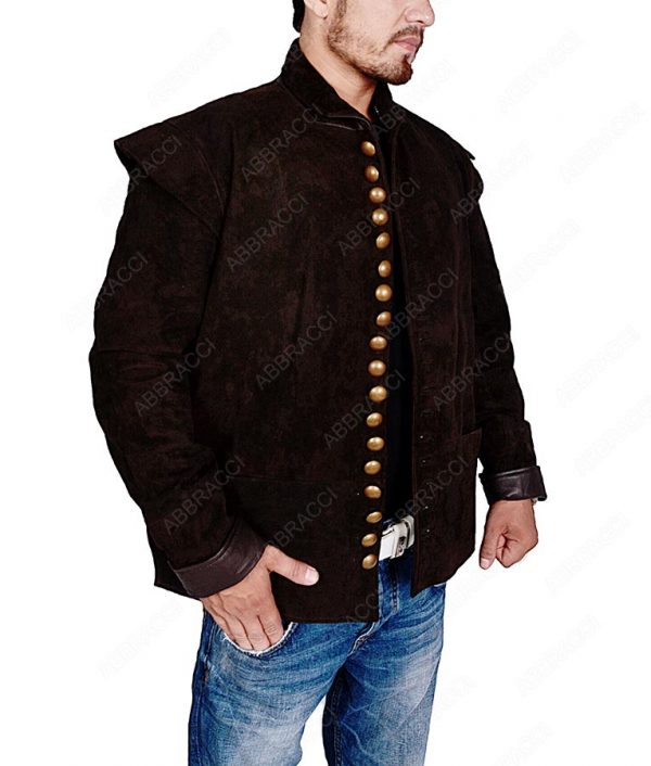 Brown-Front-Button-Jacket