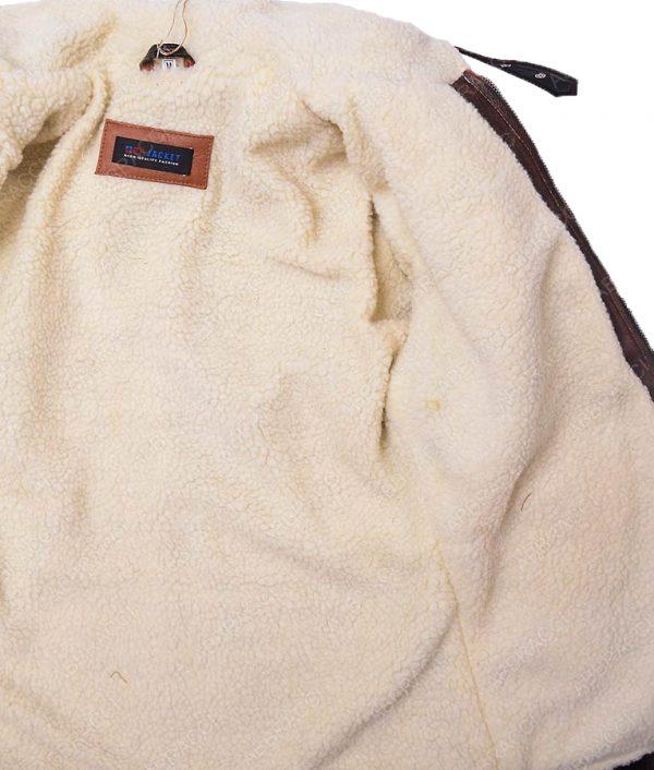 Brown-distressed-leather-Gaming-B.j-Jacket