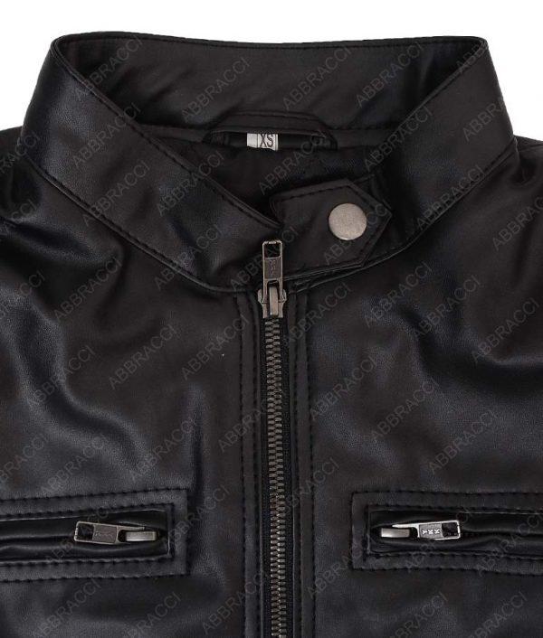 Shadowhunters-Katherine-McNamara-Leather-Slimfit-Jacket