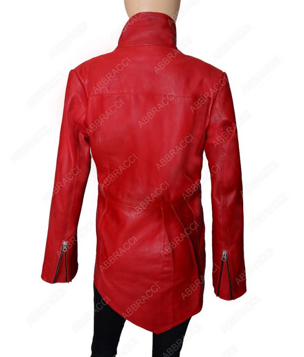 Zipper-Cuffs-Red-Jacket