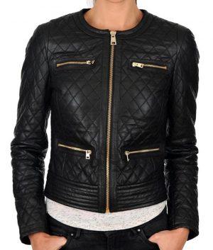 Black-Slimfit-Collarless-Jacket