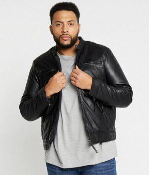Grandison Mens Leather Jacket