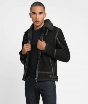 McLaughlin Mens Leather Jacket