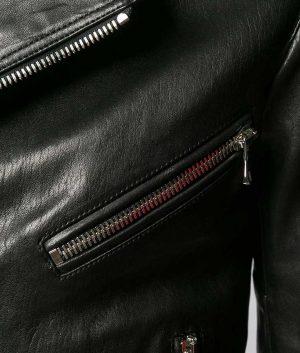 Anthony Mens Casual Slimfit Motorcycle Leather Jacket