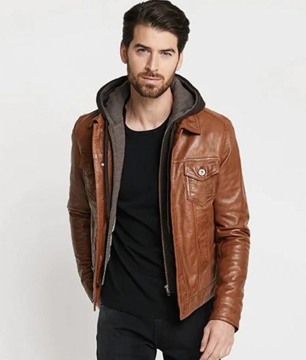 Blake Mens Casual Leather Jacket