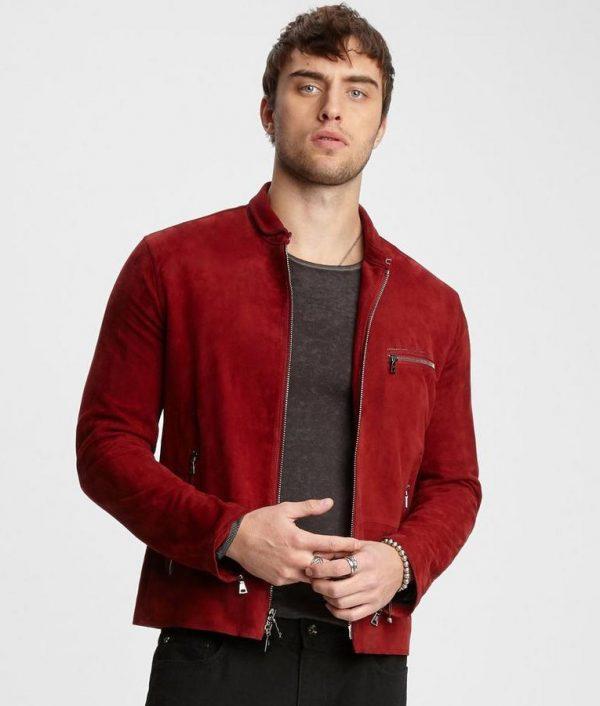 Gomez Mens Slimfit Casual Style Turn Down Collar Jacket