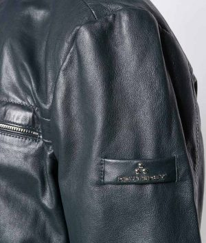 Gomez Mens Zipped Up Cafe Racer Style