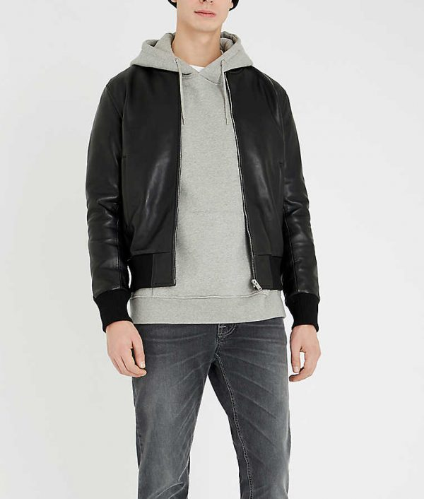 Jeremy Mens Casual Slimfit Bomber Jacket
