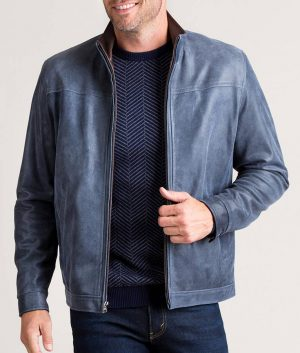 Johnson Mens ATLANTIC Lambskin Leath