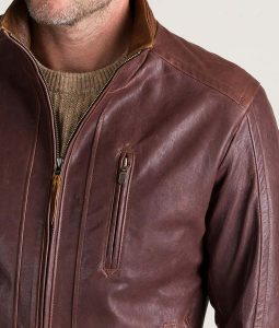 Randall Mens Leather Jacket
