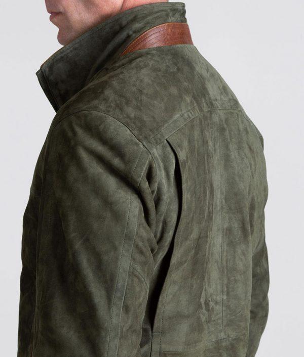 Welch Mens Lambskin Suede Leather Jacket