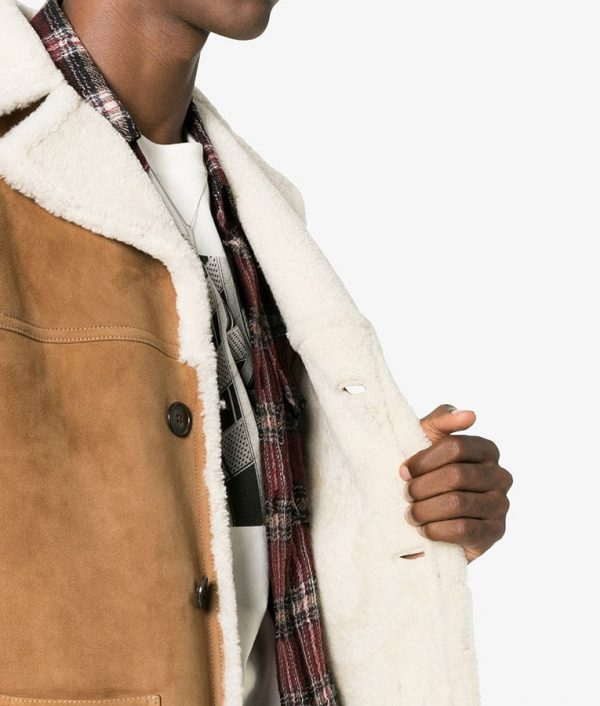 Frank Mens Casual Collar Style Leather Jacket