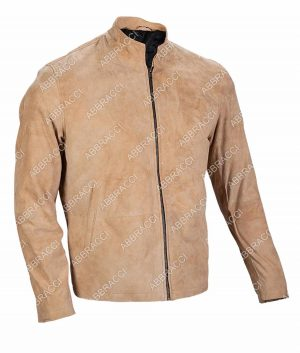 007 Morocco Brown Suede Leather Jacket