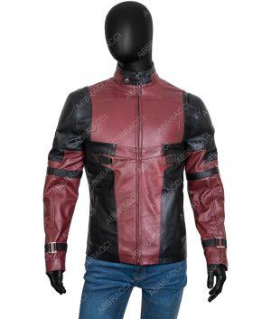 Deadpool Red Leather Jacket