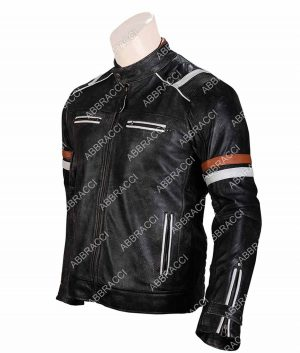 Harley Davidson Black Biker Leather Jacket