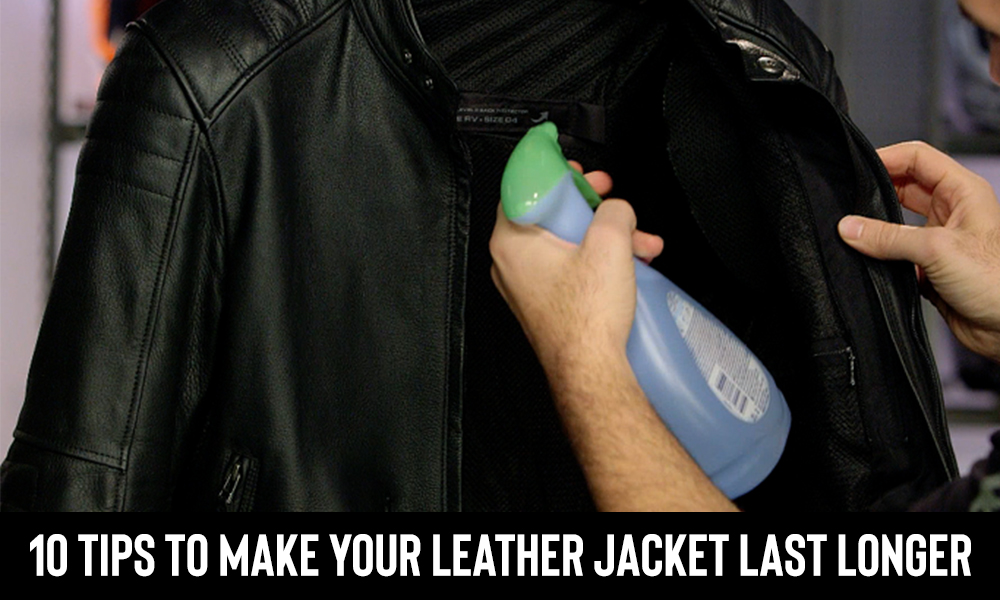 10 tips to make your leather jacket last longer