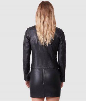 Cheryl Womens Biker Jacket