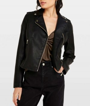 Edna Lapel Collar Womens Jacket
