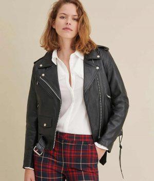 Elizabeth Moto Womens Jacket