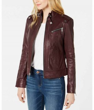 Florence Womens Cafe Racer Jacket