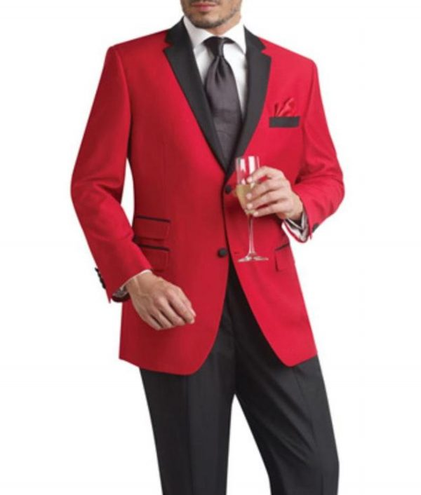 James Red And Black Tuxedo