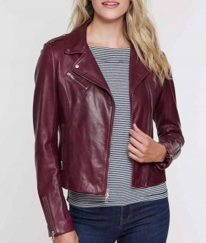 Josephine Womens Leather Jacket