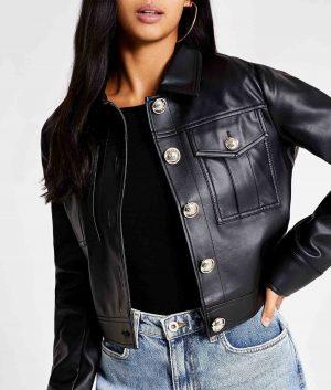 Judy Womens Leather Jacket