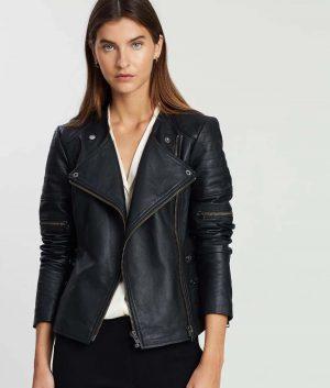 Laura Womens Moto Jacket