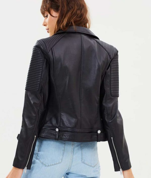 Lillian Womens Leather Jacket