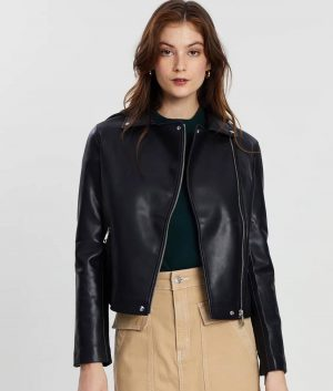 Margaret Womens Leather Jacket