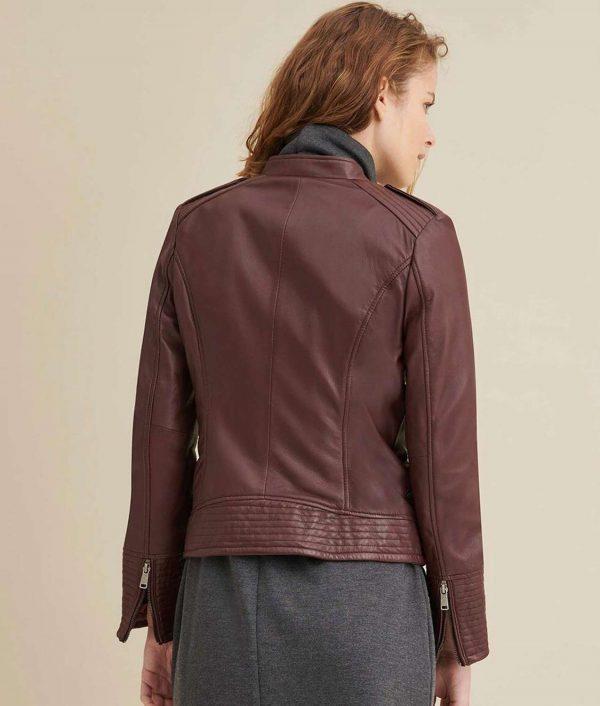 Mary Womens Biker Jacket