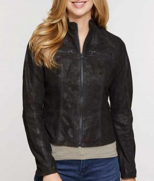 tyle Dark Brown Leather Jacket